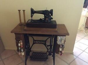 Antique SINGER sewing machine Erina Gosford Area Preview