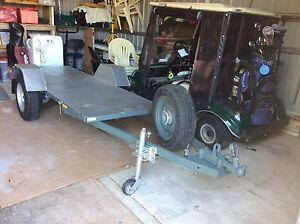 Flat Top Trailer Ideal for Tradie or Quad Bikes REDUCED Port Kennedy Rockingham Area Preview