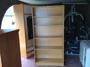 Large bookcase wooden Rockingham Rockingham Area Preview