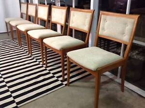 Gorgeous Eames-Danish Newly Refurbed PARKER Dining Chairs-Can Del Arncliffe Rockdale Area Preview