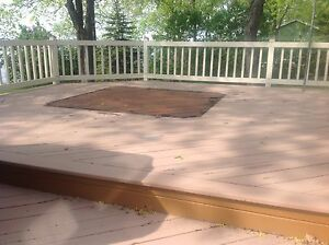 BC WESTERN RED CEDAR DECKING.