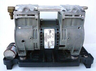 Thomas 2660ce36-190 Compressor Vacuum Pump Oil-less 4.6 Cfm At 40 Psi 115v Usa