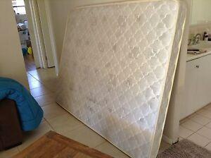 Compact innerspring queen mattress for camper trailer Kamerunga Cairns City Preview