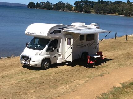 JAYCO CONQUEST TOP OF THE RANGE MOTORHOME $81,995 ONO