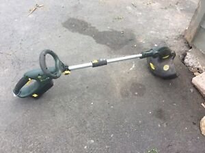 Yardworks cordless grass trimmer/edger