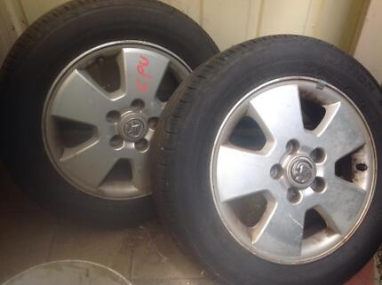 Tyres and rims for Holden astra