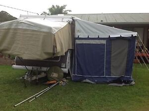 11' Jayco Bag Awning with Kakadu Annex Duranbah Tweed Heads Area Preview