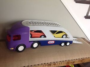 Toy Transport with 2 cars