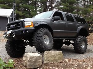 2000 Excursion overland /trail rig