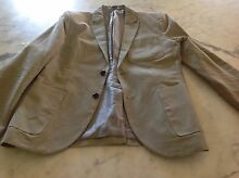 ARMANI EXCHANGE A/X MENS JACKET BLAZER BRAND NEW STONE COLOUR Lockleys West Torrens Area Preview