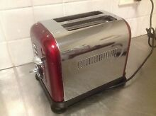 Morphy Richards toaster- deep red Woolloomooloo Inner Sydney Preview
