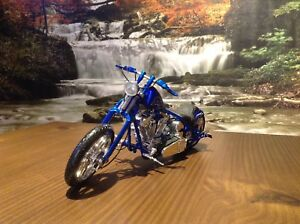 Moto de Collection Miniature Diecast 1/10 Chopper