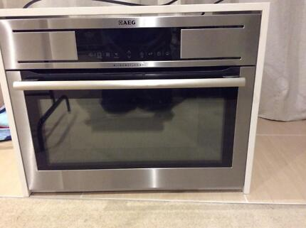 aeg multi oven microwave grill