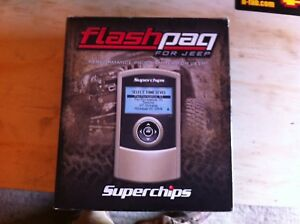 Flashpaq for JEEPS Superchips  3872
