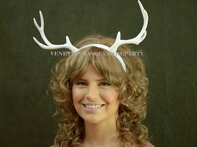 Deer Antler Headband Horns Headpiece Halloween Festivel Costume Dress up Party](Ladies Deer Costume)