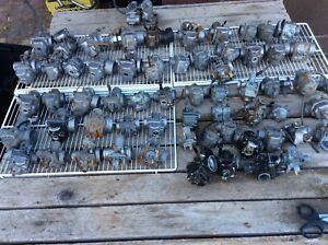 1960-1985 Honda Yamaha Kawasaki Suzuki Single Carbs Lot #2