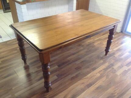 ELEGANT SOLID RECYCLED TIMBER DINING TABLE DINING ROOM BENCH