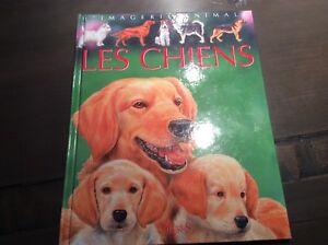 Livre jeunesse ...L'imagerie animale, les chiens + le cirque