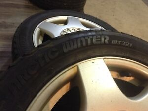Winter tires on 16 inch Volkswagen rims