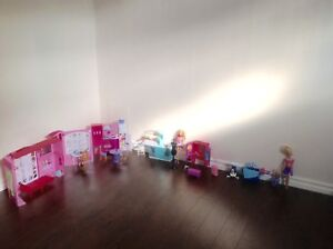 Barbies and furniture!!!!