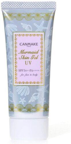 CANMAKE Tokyo Mermaid UV Skin Gel #01 CLEAR (SPF50+ PA++++) 40g - US Seller
