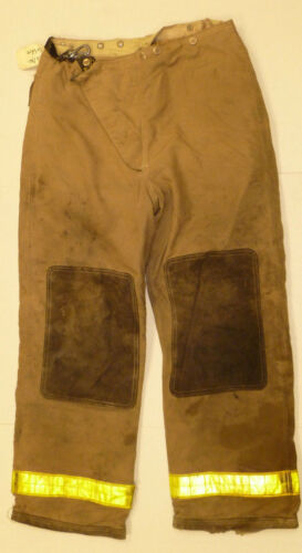 36x30 Pants Firefighter Turnout Bunker Fire Gear Globe P798