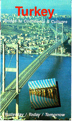 Turkey Bridge to Continents and Cultures History Photos Vintage Tourism Booklet