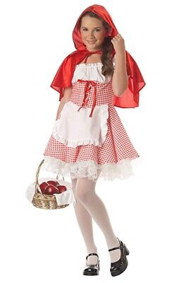 Tween Little Red Riding Hood Halloween Costume (Tween 10-12 Kids Little Red Riding Hood Fancy Dress Costume Storybook Book)
