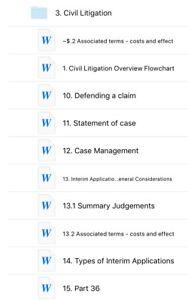 LPC Civil Litigation - Legal Practice Course Notes LPC 2018/2019