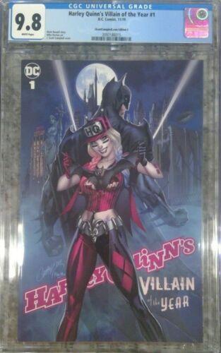 Harley Quinn's Villian of the Year #1 J Scott Campbell cover C - CGC 9.8