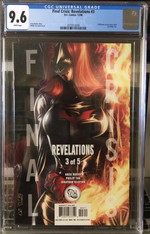 Beautiful Comic! Final Crisis: Revelations #3 CGC 9.6