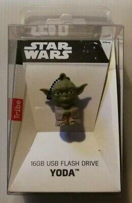 USB FLASH DRIVE MEMORIA YODA 16 GB STAR WARS TRIBE DISNEY NUOVA...