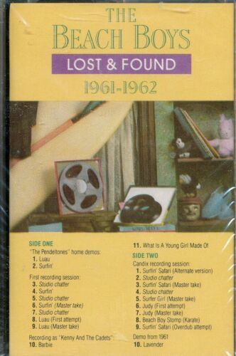TWO (2) FACTORY SEALED DCC Audiophile ANALOG Cassettes BEACH BOYS Lost and Found
