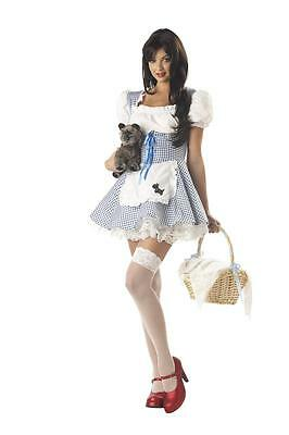 Sexy Storybook Sweetheart Dorothy Halloween Adult Costume (Dorothy Halloween Costumes)