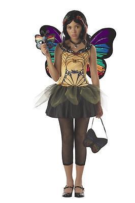 Strangeling Butterfly Masquerade Fairy Tween Costume - Tween Fairy Costume