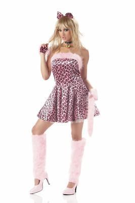 Sexy Naughty Purrty Kitty Cat Kitten Animal Adult Women Costume Size Large - Naughty Kitty Costume