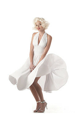 Sexy Marilyn Monroe Hollywood Movie Star Adult Costume](Hollywood Stars Costumes)