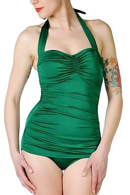 Esther Williams Pinup Model Swimsuit Emerald Green Vintag...