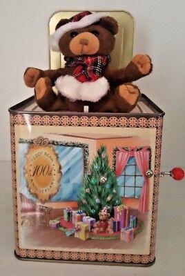 Celebration Teddy Bear - THE TEDDY BEAR 100th ANNIVERSARY Celebration-Jack-in-the-Box