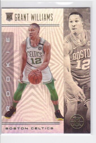 2019-20 PANINI ILLUSIONS BOSTON CELTICS GRANT WILLIAMS RC NO. 159