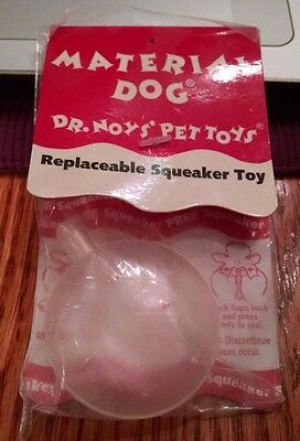 Replacement Squeaker Toy by Dr. Noys' Pet Toys