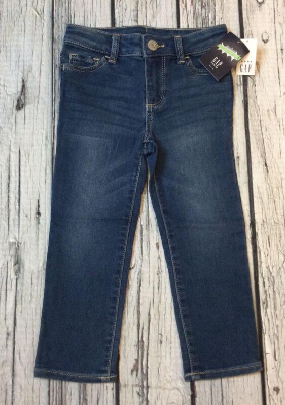 Baby Gap Girls 4 / 4T Blue Jeans Fantastiflex Stretch Jeans. Nwt