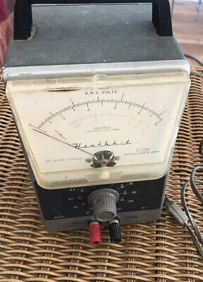Heathkit Ideal Precision Meter Rms Volts. Vintage