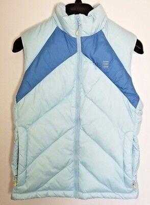 d8609a2b82 Lands End Women s Down Puffer Vest Jacket Ski Vest Sz XS (2-4)