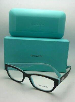 c37ee13f192 New TIFFANY   CO. Eyeglasses TF 2172 8134 51-16 140 Tortoise on Blue