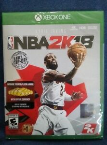 NBA 2K18 | SEALED | NEVER PLAYED COMES W/ VC