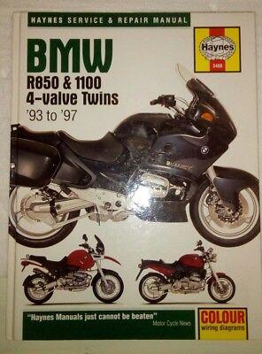 Haynes BMW R850 & 1100 4-Valve Twins 93 - 97 Repair Manual - Hardback