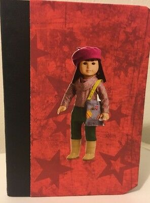 American Girl Doll Ivy Ling Custom Made Mini Notebook Adorable Party Favor