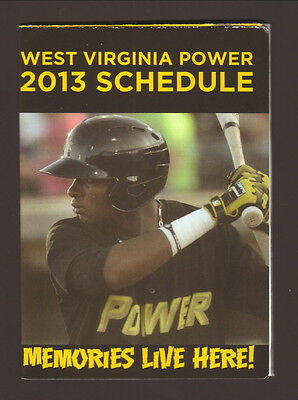 Gregory Polanco  2013 West Virginia Power Pocket Schedule  Huntington Bank
