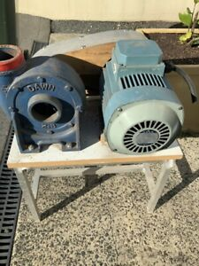 Dawn air blower with 3 phase motor